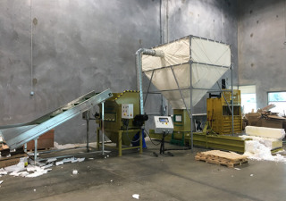 Styrofoam recycling machine GreenMax APOLO C300