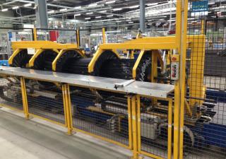Hirschmiller & Höhn NCB 4000 Hydraulic Pipe-Bending Machine
