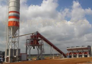 MVS Proje Ltd. Şti. MVS 60S  Stationary Concrete Batching Plant