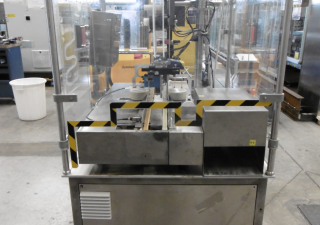 Corima (Marchesini Group) F02/S Self-Adhesive Top Labeller for cartons etc.