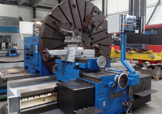 WMW - Magdeburg DP3 Facing Lathe