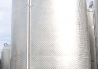 MÖSCHLE 31.500 liter storage tank outside marbled