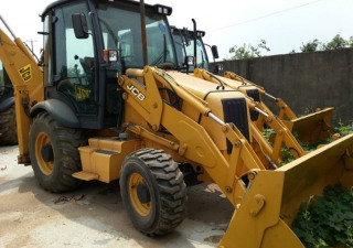 used high quality JCB 3cx backhoe loader from Japan