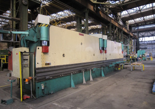 DUCK SUNG M/C 600Sx12000L Hydraulic Tandem Press Brake