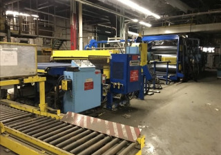 DAVIS STANDARD 60IN60 / MV-35IN35 CO-EXTRUSION LINE 1998