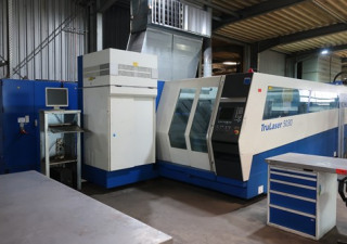 Trumpf TruLaser 5030 laser cutting machine