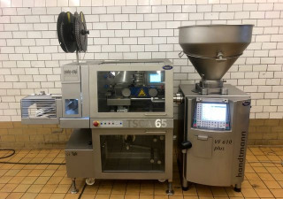 Automatic sealing/clipping machine Poly-clip TSCA 65 N