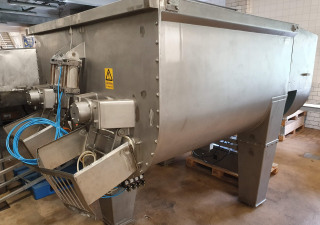 Twin-shaft ribbon mixer Wolfking 3000L