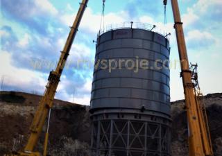 Mvs Proje Ltd. Şti. MVS 2500 TONS, CEMENT, AND POWDER SILOS