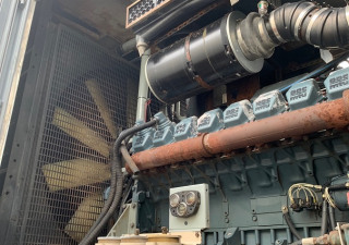 920 KW MTU 16V2000DC Generator Set