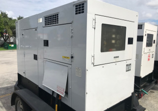 70 KW Multiquip DCA70 Generator Set