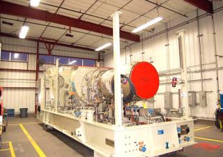 4000 KW Gas Turbine Generator Units