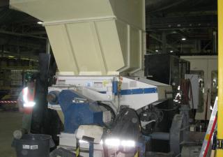 Vecoplan RG42/50 XL  Single Shaft Shredder
