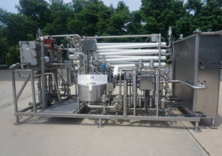 HTST Pasteurization System, Skid Mounted