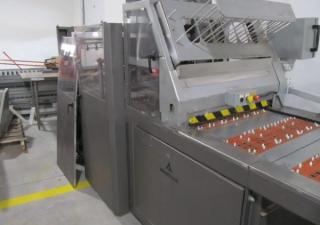 """Alloyd 1428 conveyor sealer sealer card and blister feed, 18"""" x 24"""""""