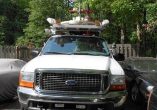Vsat Communication Vehicle Ford Excursion