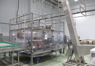 Dawson 10,000bph bottle filling line
