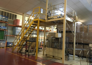 Bosch sachet fill / carton production line