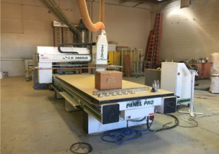 Used C.R. Onsrud 145G12 CNC Router 5′ x 12′ Table, Automatic Tool Changer, New in 2004