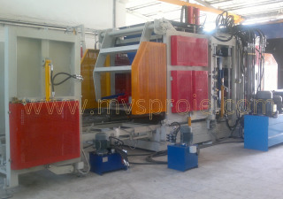Mvs Proje Ltd. Şti. MVS 3615 Full Automatic Concrete Block and Paverstone Making Machine