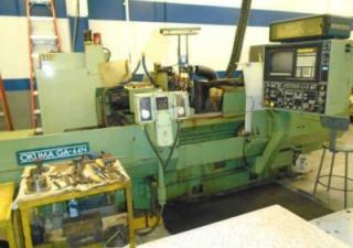 Used Surface Grinder | OKUMA Model GA-44N CNC Cylindrical Grinder