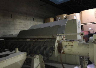 "6"" PTI Pelletizing Extrusion Line for sale 500 HP AC Motor"