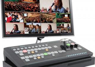 Datavideo SE-1200MU 6 Input Switcher + RMC-260 Controller Bundle