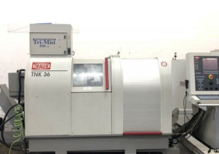 Traub TNK-36 CNC 9 Axis Swiss Screw Lathe Machine