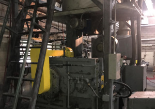 "10"" Hartig Pelletizing Extrusion Line"