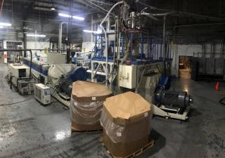 Chi Chang Machinery Foam Sheet Extrusion Line 2017