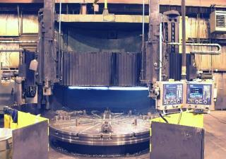 Bullard cnc vertical boring mill