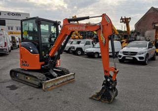 Hitachi ZX 26U-5A CR Mini diggers