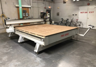 Used Multicam Pro 303 Series Cnc Router, 8′ X 12′ Table