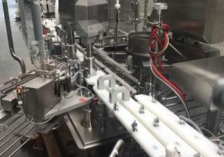 Groninger  DFVG 4130, DTE 1000 liquid filling and closing plant for vials/bottles