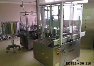 Inova/Optima SV 122 / SH 110/1 / EK 321 Pre-filled syringes filling-, closing- and labelling line