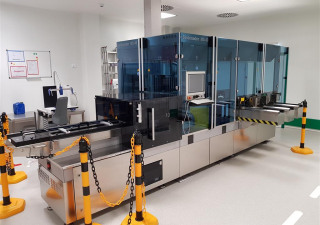 Seidenader MS-40 inspection machine for ampoules and vials