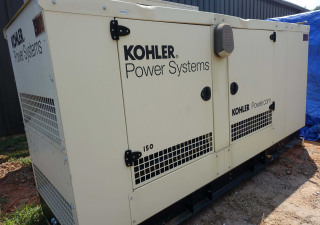 150 kW Kohler Enclosed Natural Gas Generator