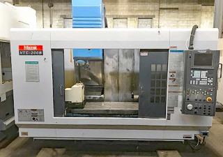 Mazak Vtc-200B 4-Axis Cnc Vertical Machining Center