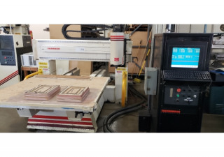Used 1993 Thermwood C40 CNC Router, 5′ x 5 Table