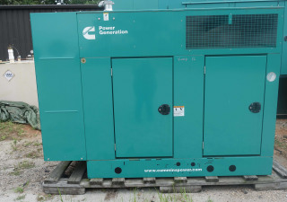 40 kW Cummins Enclosed Natural Gas Generator