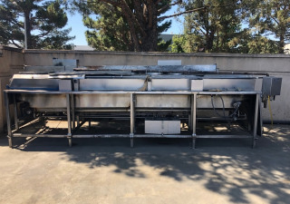 Cook King 30 In. W x 18 Ft. Long Continuous Gas Fired Fryer