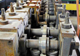 "Used ARDCOR Roll Former For Sale - 1-1/2"" Spindle, Tooling for Channel"