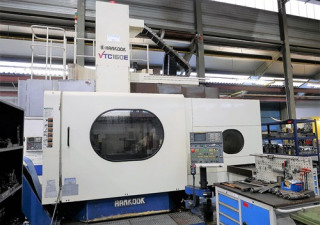 Hankook VTC-160E CNC Vertical Lathe with Milling and ATC