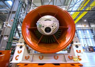 Siemens GTE-160 gas turbine