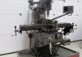 BRIDGEPORT BR2J2 Turret Mill with DRO Power Feed 1994