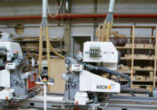 Koch-Compact-Nc-Cutting-, Drilling And Dowelinserting Machine