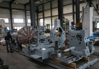 WMW DP 2-S Facing Lathe
