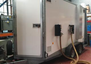Dryair CHM2100-180 trailer mounted central heating module