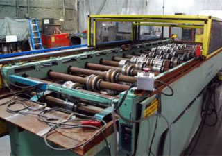 "AG Panel Roll former For Sale ➔ 14 Stand x 2-1 / 2 ""Spindle x 44"" Roll Spa"