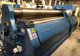 2013 FACCIN 4HEL3134 4 ROULEAUX INITIAL DOUBLE PINCH PLATE BENDING ROLL